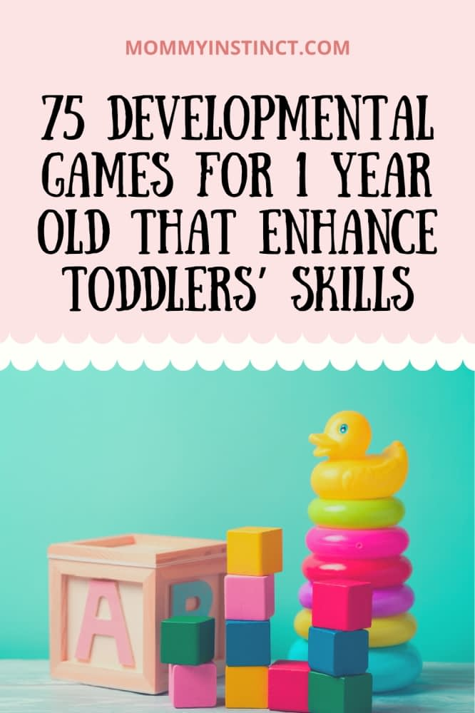 developmental games for 1 year old