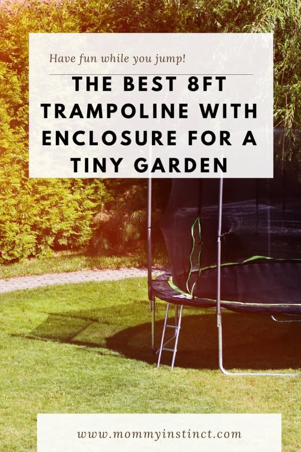 The Best 8ft Trampoline With Enclosure For A Tiny Garden