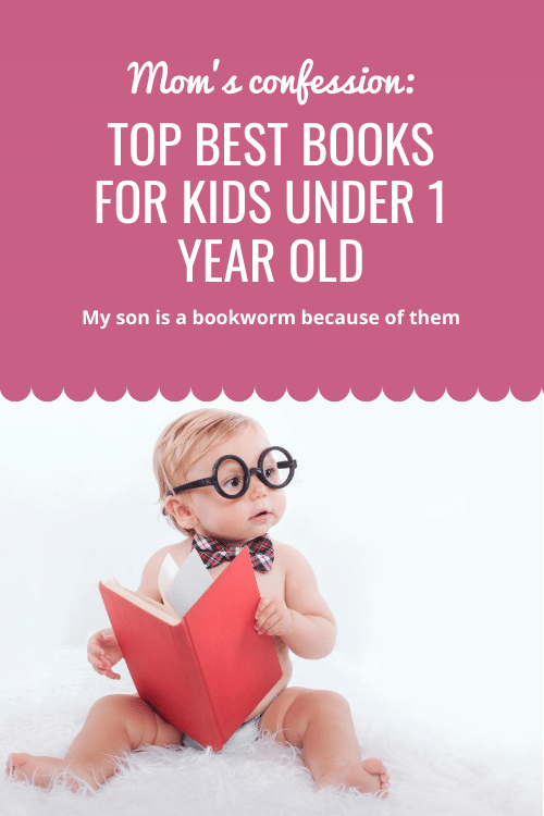 Top Best Books For Kids Under 1 Year Old