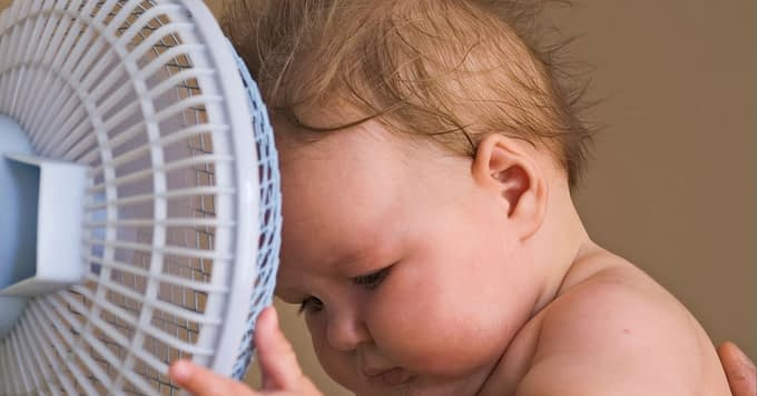fan or air conditioner for baby