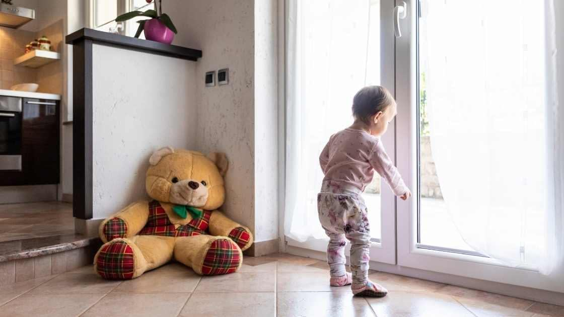 how to prevent toddlers from locking doors