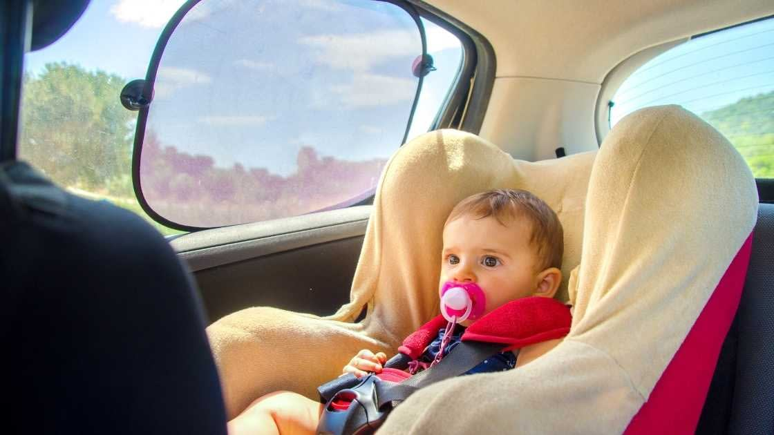 how to keep your child cool in a car seat